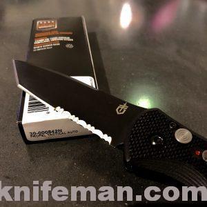 GERBER Propel Auto – 420C Blade; Black G-10 Handle 30-000842