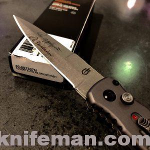 GERBER Covert AO; Tactical Grey; Fine Edge; Stonewash Blade APPLEGATE 30-001307